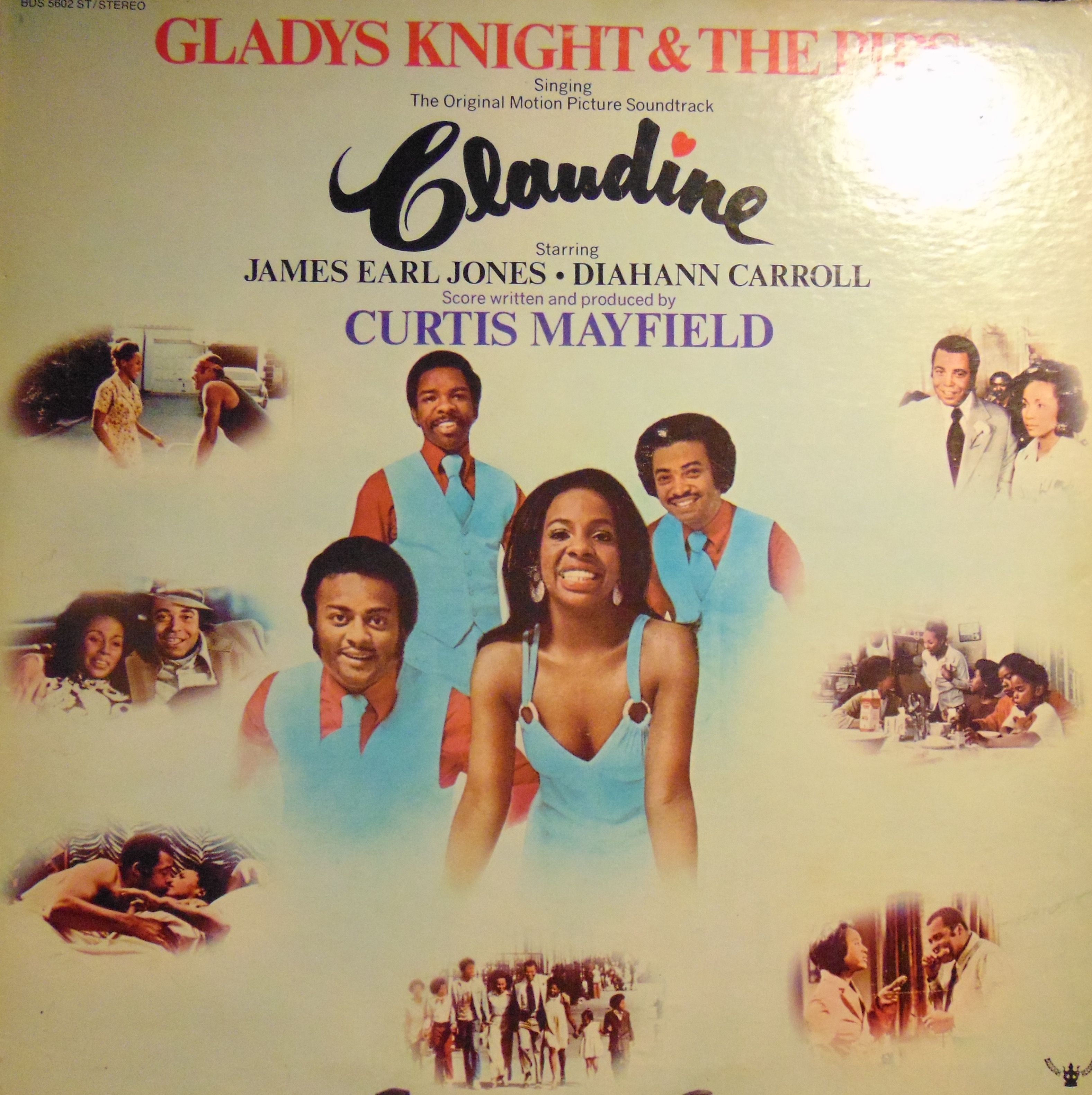 Gladys Knight And The Pips Claudine Vinyl Lp Curtis Mayfield Buddah In 2020 Gladys Knight Soundtrack Vinyl Records