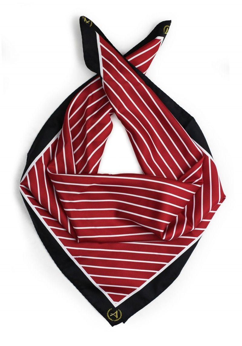bab1bfd4c9a4 custom logo school scarf   Our Custom Ties + Scarves   Custom ties ...