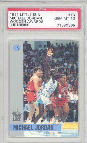 1991 Little Sun Wooden Awards 13 Michael Jordan 7000 From A