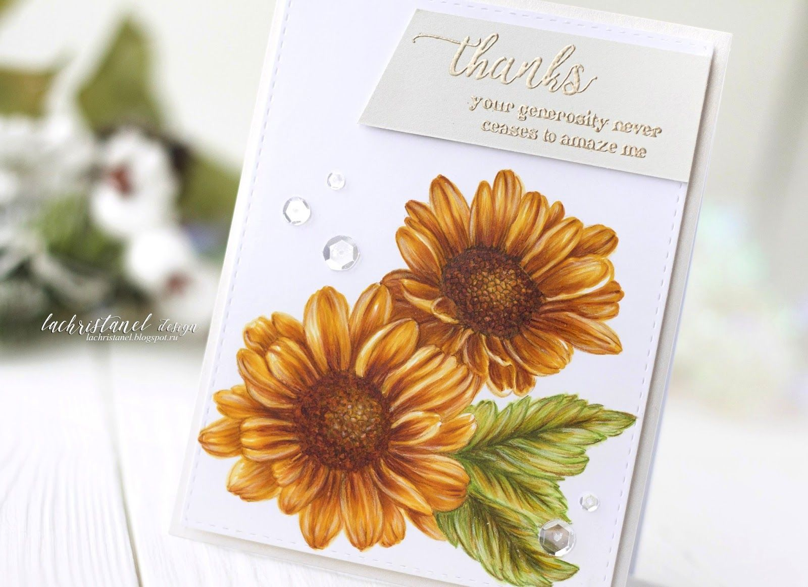 Altenew Markers Release Blog Hop Giveaway Video Lachristanel