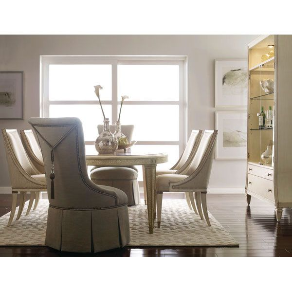 Carleton   Oval Dining Table. #schnadig #carleton #diningtable #whitetable # Dining