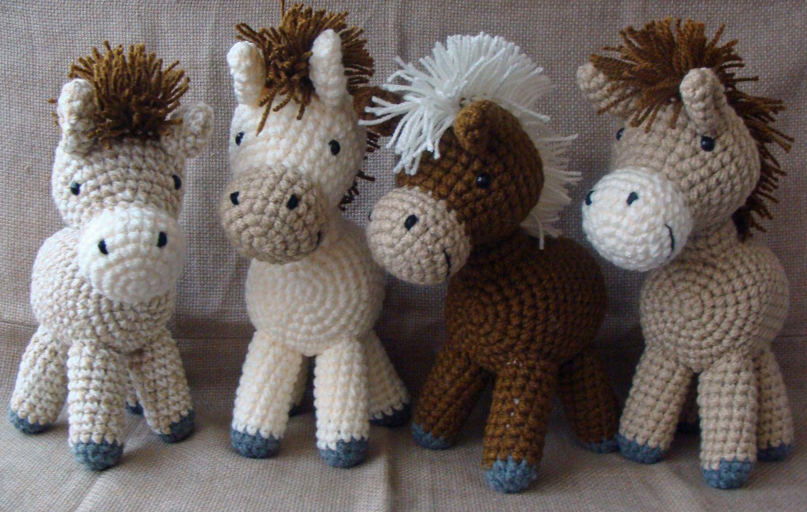 Amigurumis Caballitos A Crochet : Caballitos amigurumi amigurumis amigurumi and crochet