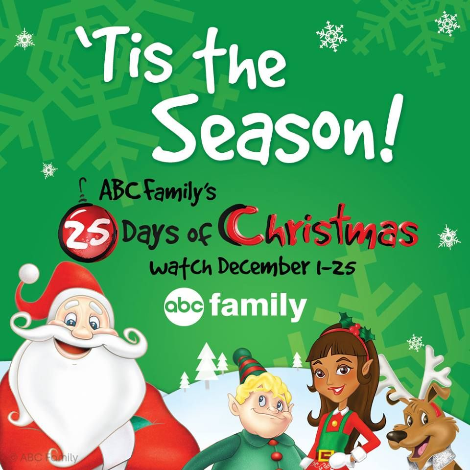 Abc Family 25 Days Of Christmas 2013 Schedule 25 Days Of