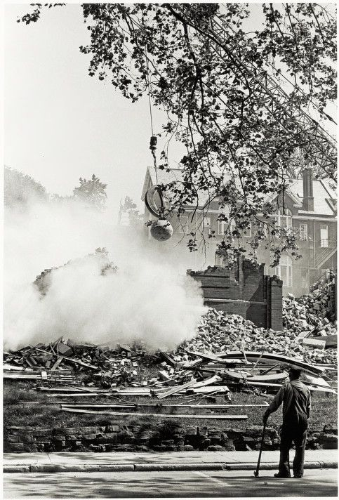 Another historical look at demolition...This one is from 1966.#history #demolition