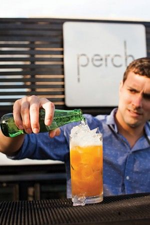 Perch Pimmu0027s Cup From Bar Manager Brad Ciechanowski of Perch at - bar manager