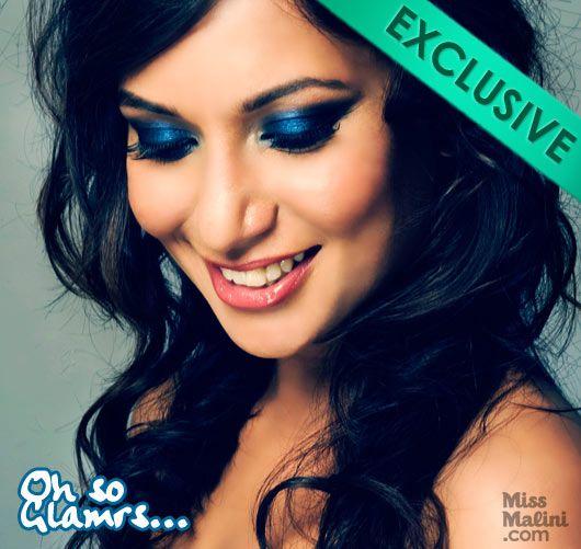 MissMalini Glamrs.com shoot