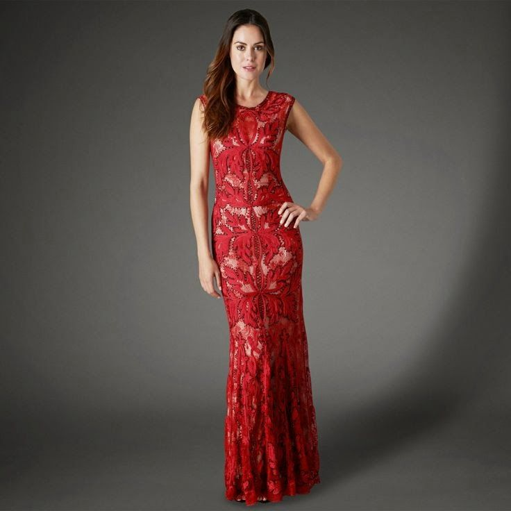 ruby red bridesmaid dresses with flowers - Top 50 Ruby-Red ...