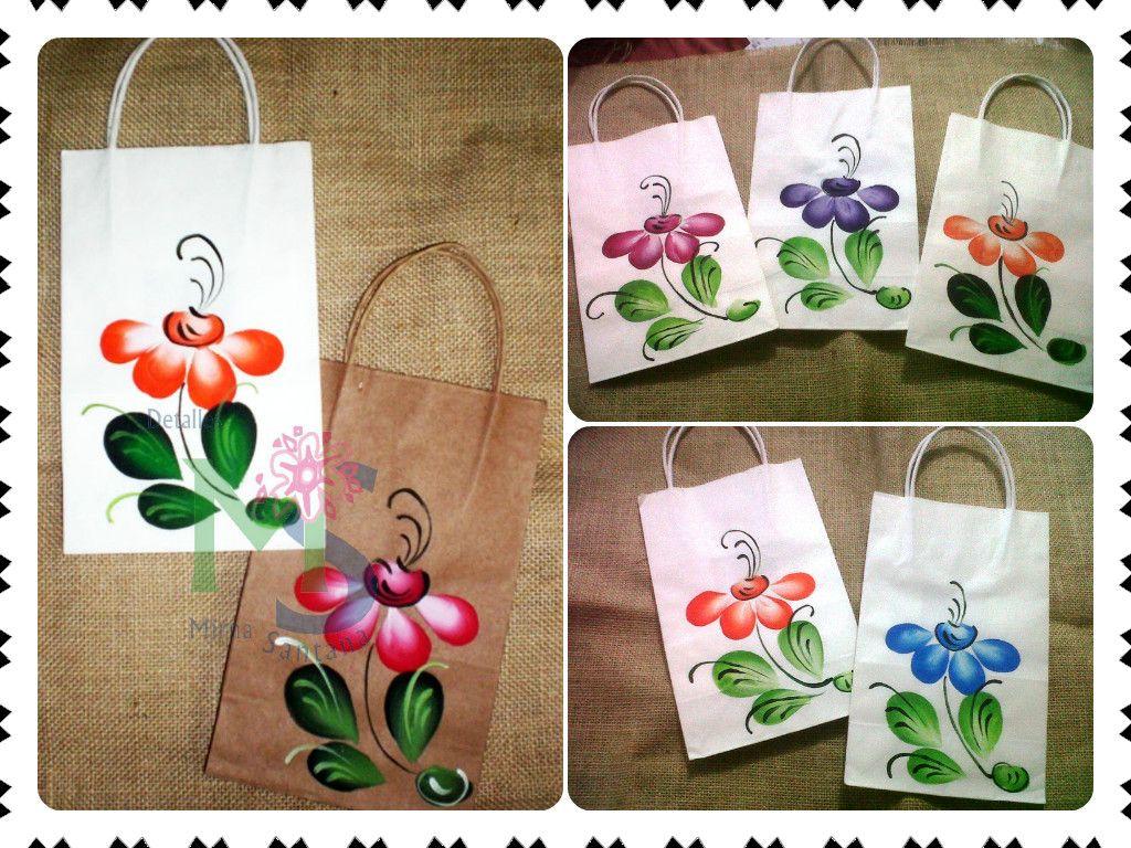 Fundas bolsos papel pintados a mano pintura en tela - Bolsas para pintar ...
