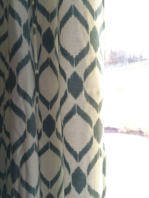kohl's sonoma gianna curtains in stillwater | new home decorating