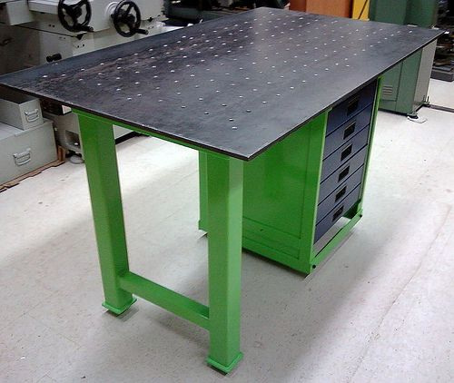 Welding Table Designs if you cant have a welding table of 6 inch thick cast iron Welding Fixture Table By J Jacobs I Built This Welding Tu2026