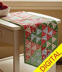 Christmas Confetti Quilt Pattern from ShopFonsandPorter.com