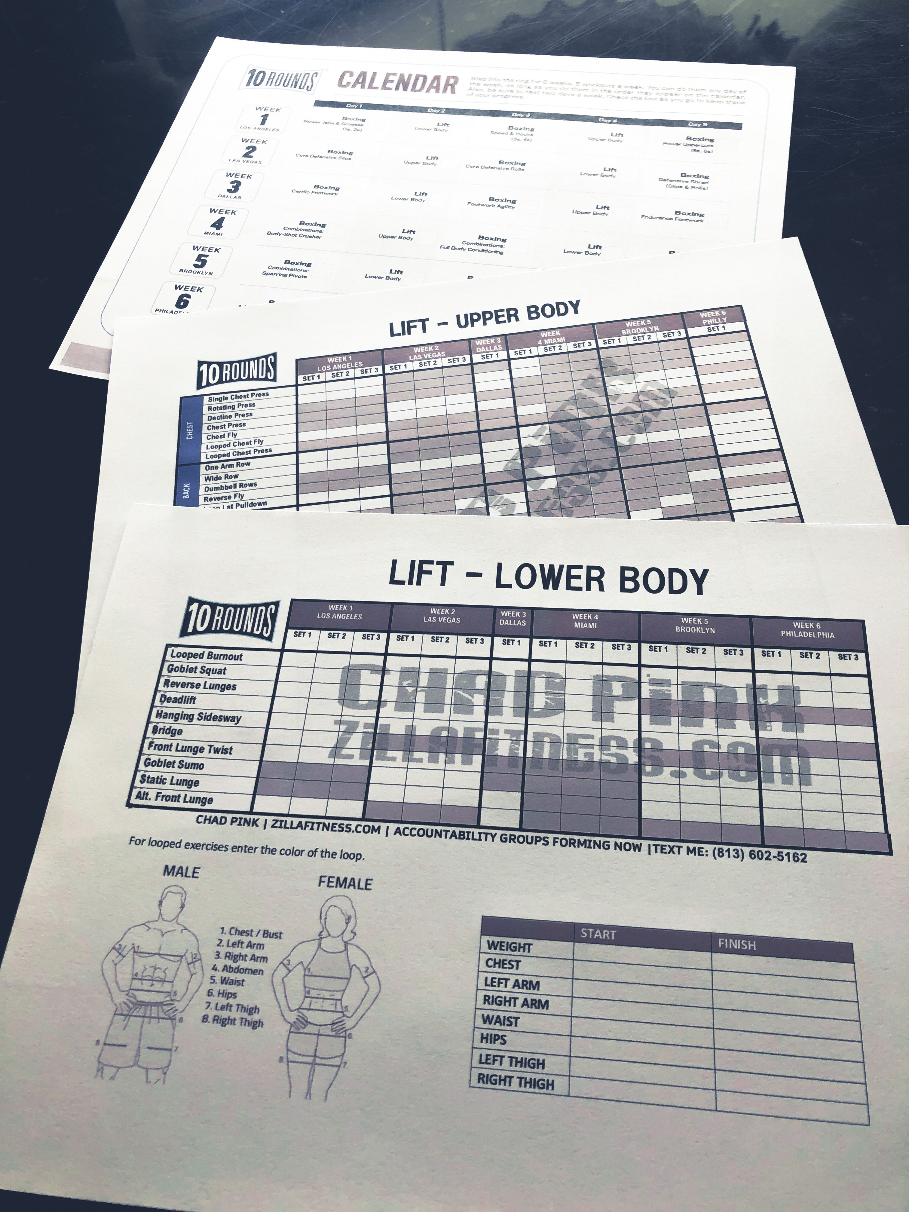 Pin On Beachbody Worksheets And Schedules