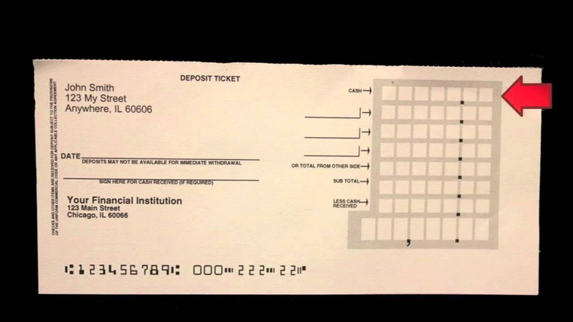 Browse our image of regions bank deposit slip template for