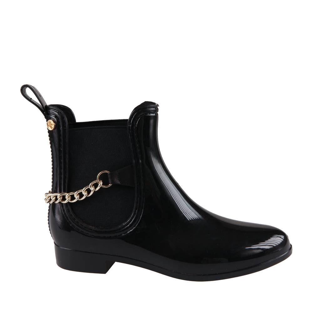 bottes de pluie closer noir c42631003 femme bottes de pluie chaussea bottes de pluie