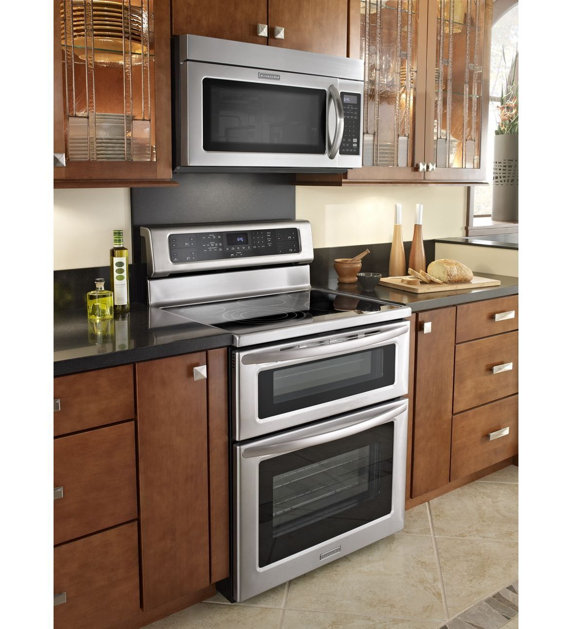 Kitchenaid 30 1000 Watt Microwave Hood Combination Oven