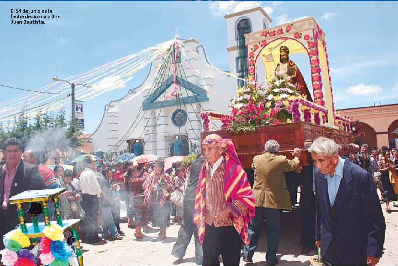 Celebraci N De La Cultura Cakchiquel Dedicada A San Juan Bautista  # Muebles En Kaqchikel