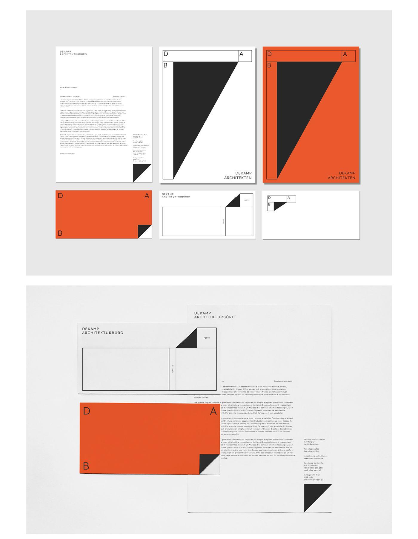 Dekamp Architekten on Behance