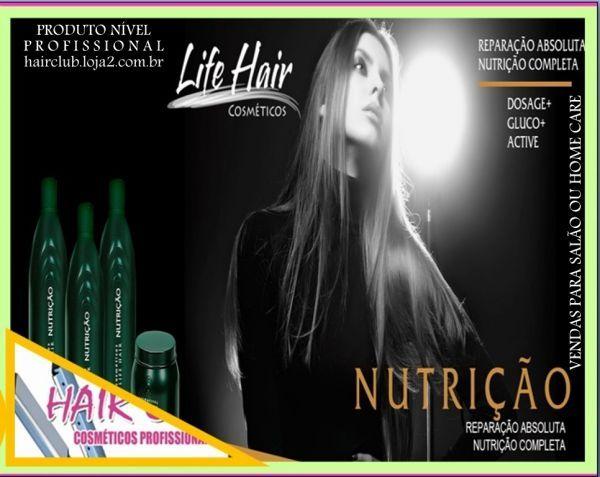 06HC206 *LIFE,* RECONSTRUÇÃO 4P DIV LIFE HAIR…