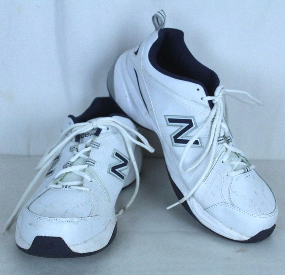 b1bc61bff9 New Balance Mens Size 14 4E White Sneakers Shoes MX608V4 #NewBalance ...