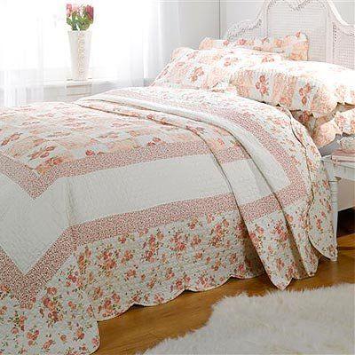 linens limited parure couvre lit matelass 2 personnes lille rose 260 x 240cm. Black Bedroom Furniture Sets. Home Design Ideas