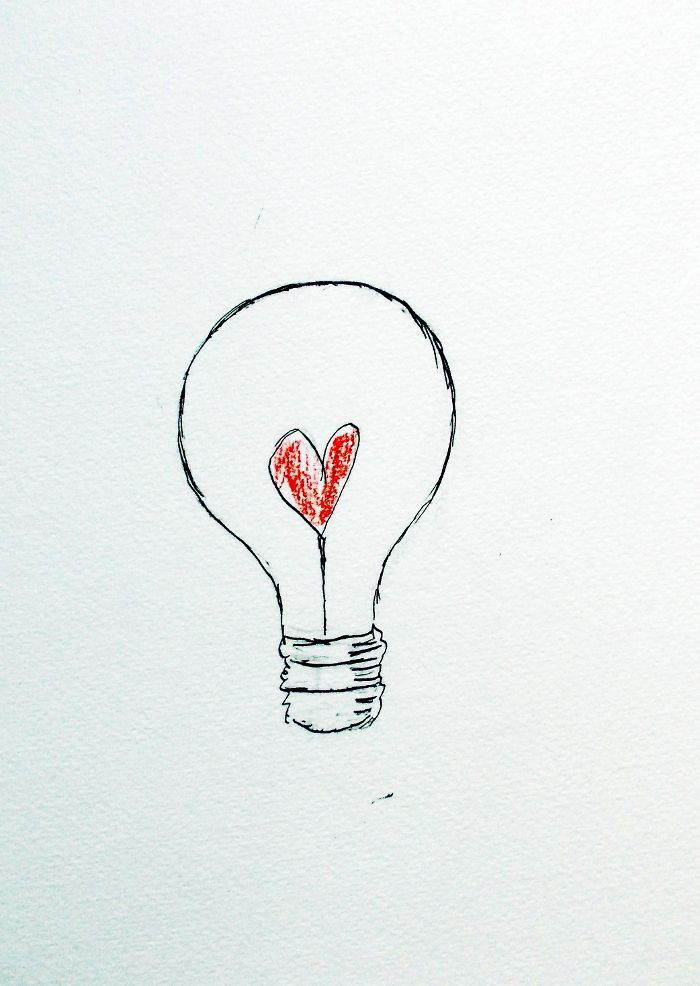Light Bulb Loveheart Awesome Things In 2019 Light Bulb