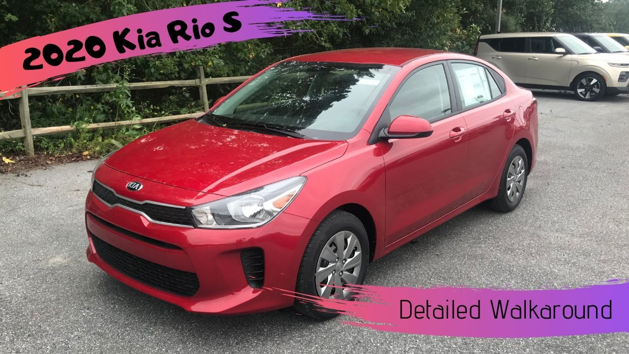 Some Changes Under The Hood And Updates To The Interior Are Included In The Newest Kia Rio Check Out The Walkaround Video Kia Rio Kia Rio
