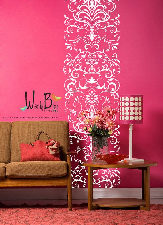 wall decals for craft rooms damask wall decal scroll ornate lacey vinyl wall decal extra