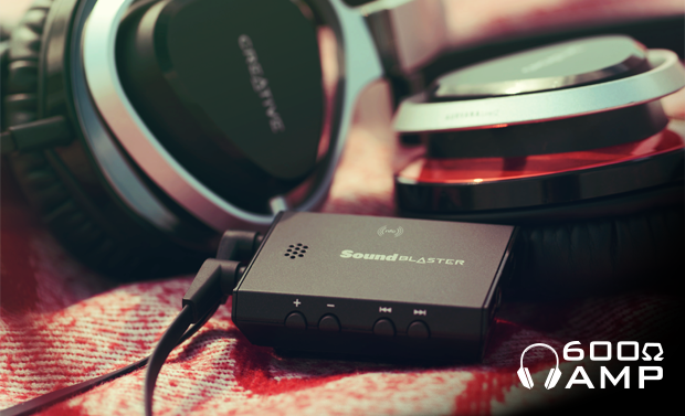 Multipoint Sound Blaster E3 - HD headphone amplifier with Bluetooth