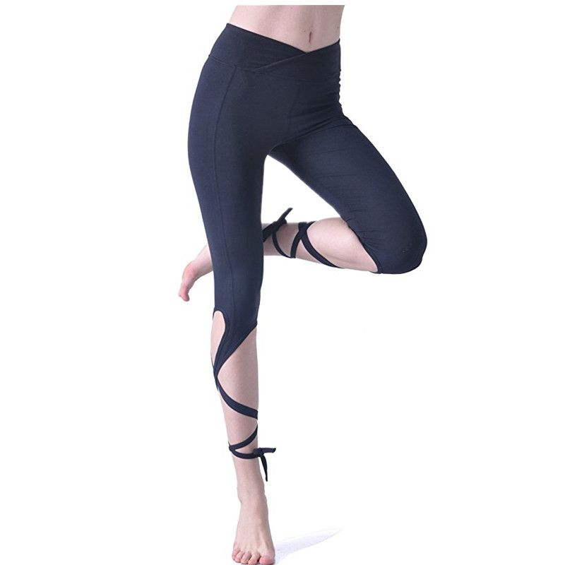 961a5193bc7a5 Queenieke black Women Yoga Pants plus size workout leggings sports running  exercise tights fitness dance Pants Yoga hips push //Price: $US $13.99 &  FREE ...