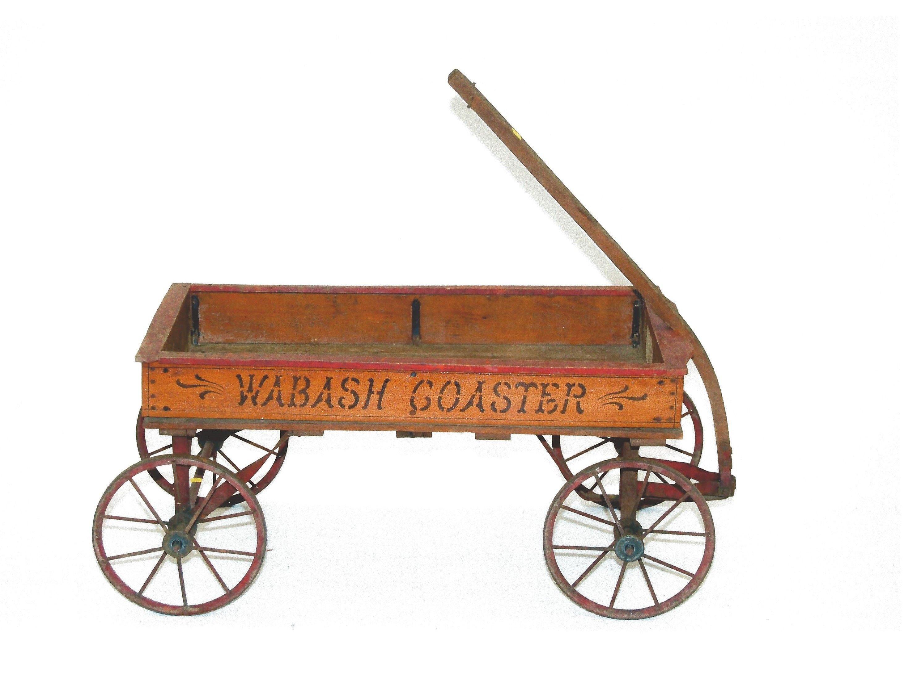 Claasic vintage toys vintage toys second shout out http www - 1906 Wabash Coaster Wagon Wabash Mfg Co Wagon Wheelsantique Metalcredittoy Wagonvintage Toyspedal