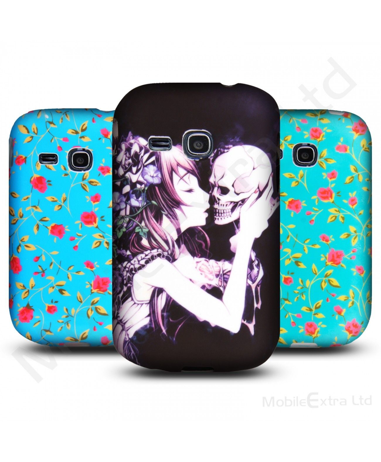 For Samsung Galaxy Young S6310 New Printed Pictorial Soft Silicone Gel Back Skin Case Cover Pouch