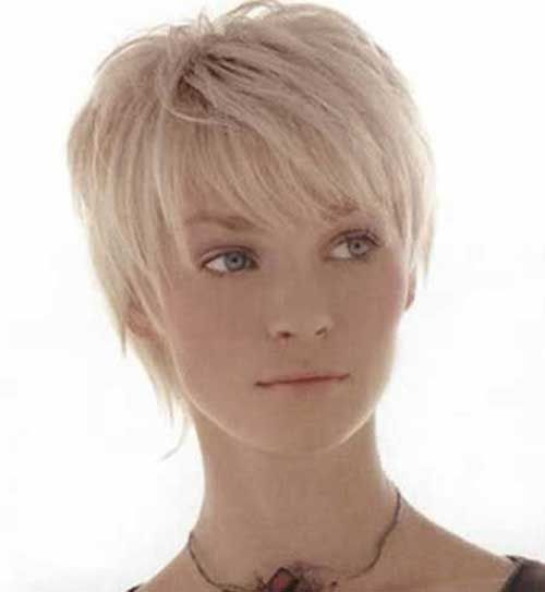 Blonde Pixie Short Haircuts