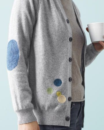Felted Sweater Patches