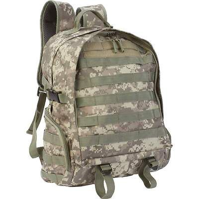 Military Camo Backpack Great For School Camping Hiking Or Laptop Book Bag