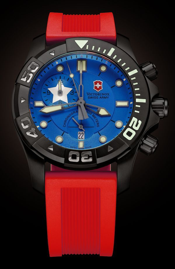 Watch What-If Swiss Army Dive Master 500 Chronograph Quality - army form