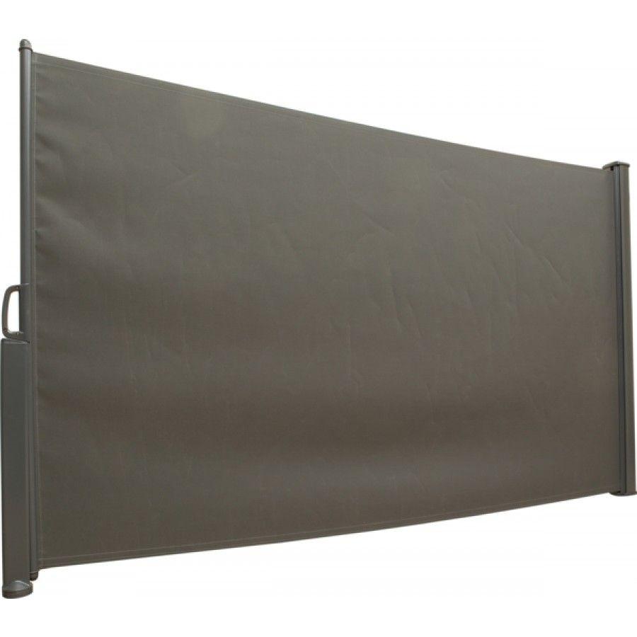Praktisk og lettjustert vindbeskyttelse av textilene på aluminiumramme som kan dras ut till ønsket lenge opptil 300cm. Høyde 160 cm. ...