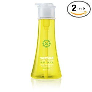 Method Dish Soap in Lemon Mint (limited edition). Love the scent and this stuff works really well -- one of America's Test Kitchen's top picks.