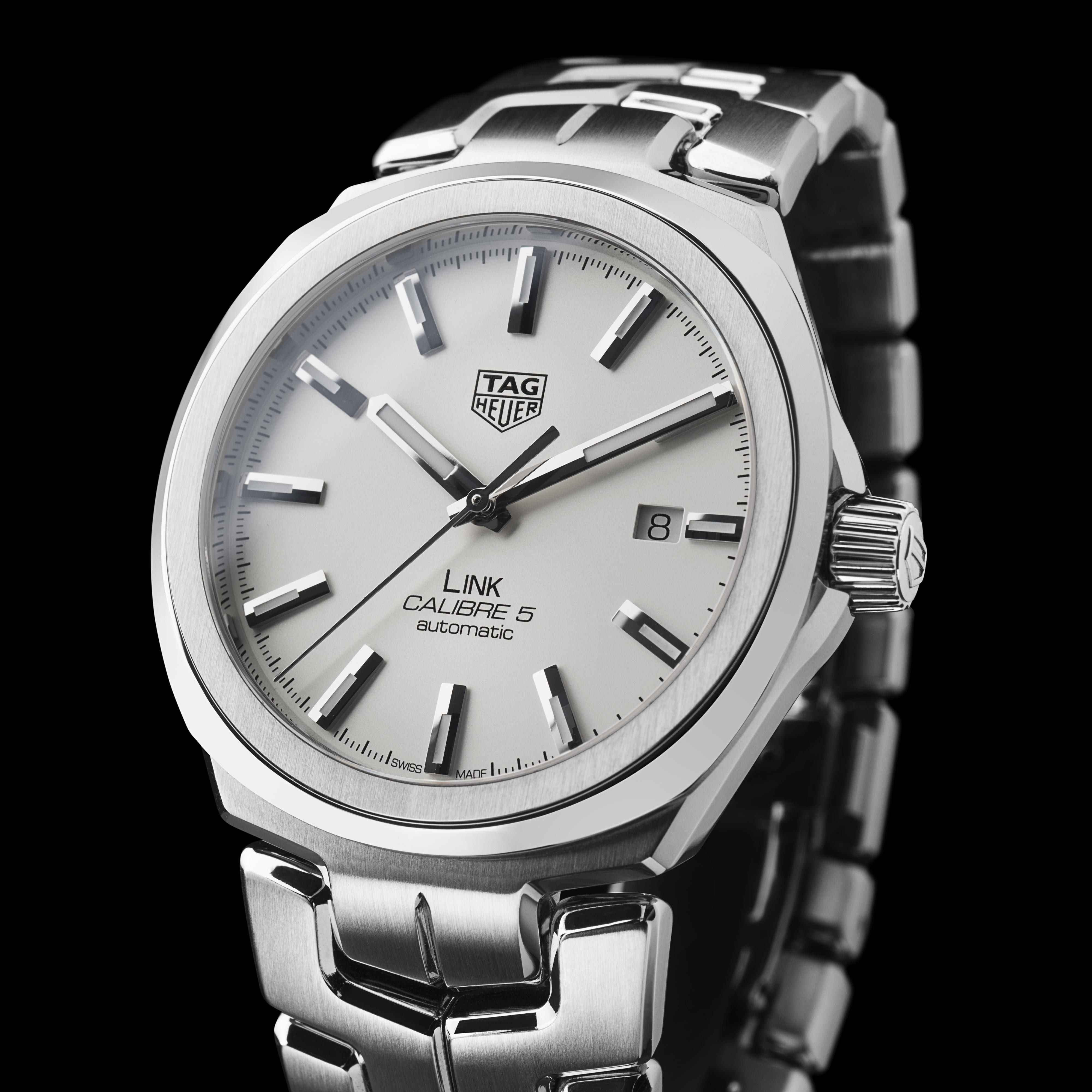 TAG HEUER LINK Calibre 5 | Men's style | Tag heuer ...