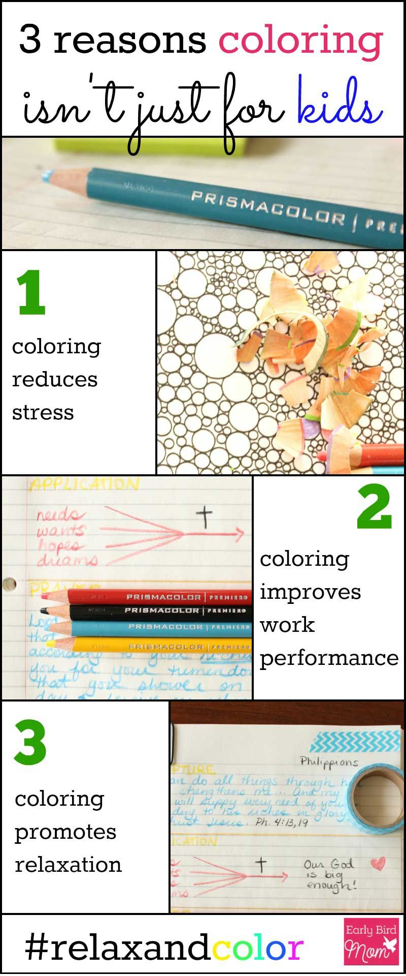 Colouring for adults benefits - You Know Coloring Is Fun But Did You Know It Also Has Other Benefits