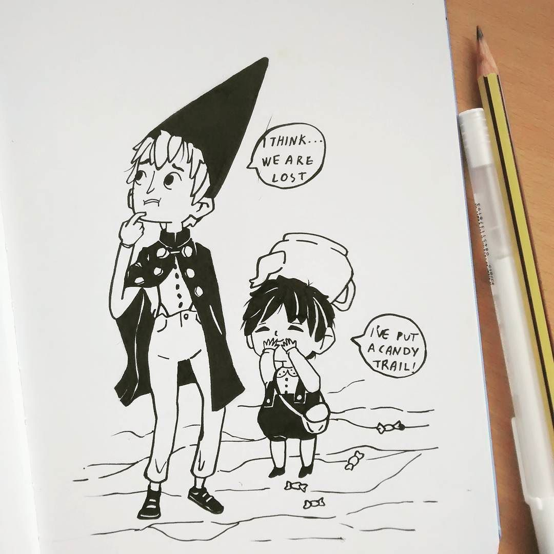 #inktober 2 _ Over the garden wall. I need to rewatch this series