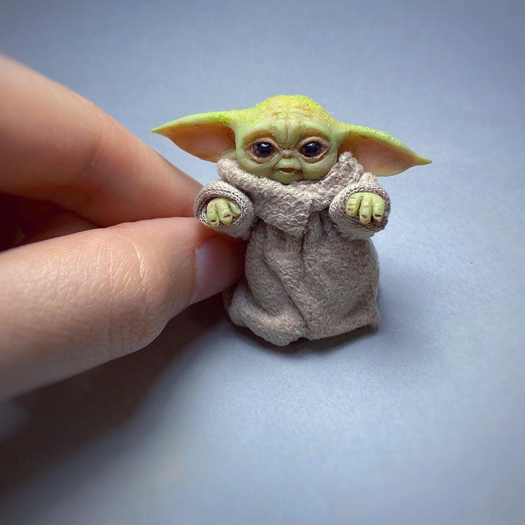 Baby Yoda By Threeleaves On Deviantart Yoda Art Yoda Wallpaper Yoda Drawing