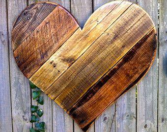 Items Similar To La Casa De Danny Handmade Reclaimed Wood Folk Art Wall Decor Wine Jug John Steinbeck Inspi Wood Hearts Wooden Hearts Wood Pallet Projects