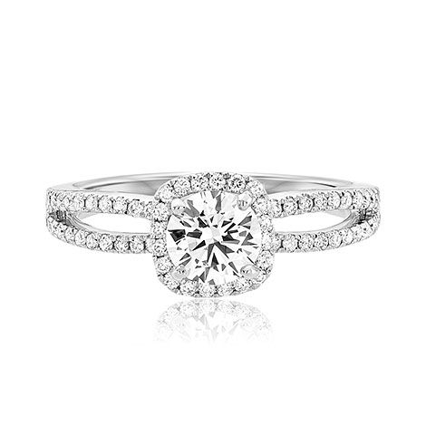 Scott Kay Scot 1012 Luminaire Scottkay Com Engagement Ring Wedding Band Halo Style Engagement Rings Scott Kay Engagement Rings