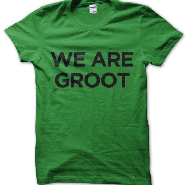 We are Groot t-shirt by Clique Wear