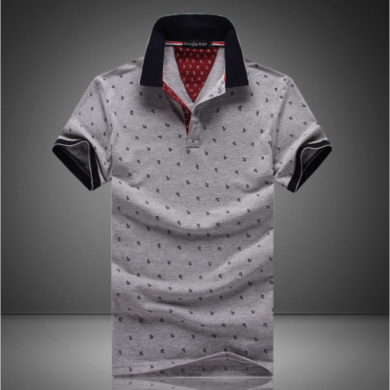 a9c5316765 Camisa Gola Polo Estampada  moda  modamasculina  inspiração  lookmasculino   lookdodia  homem