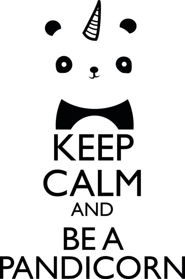 For the half panda's and half unicorn's....