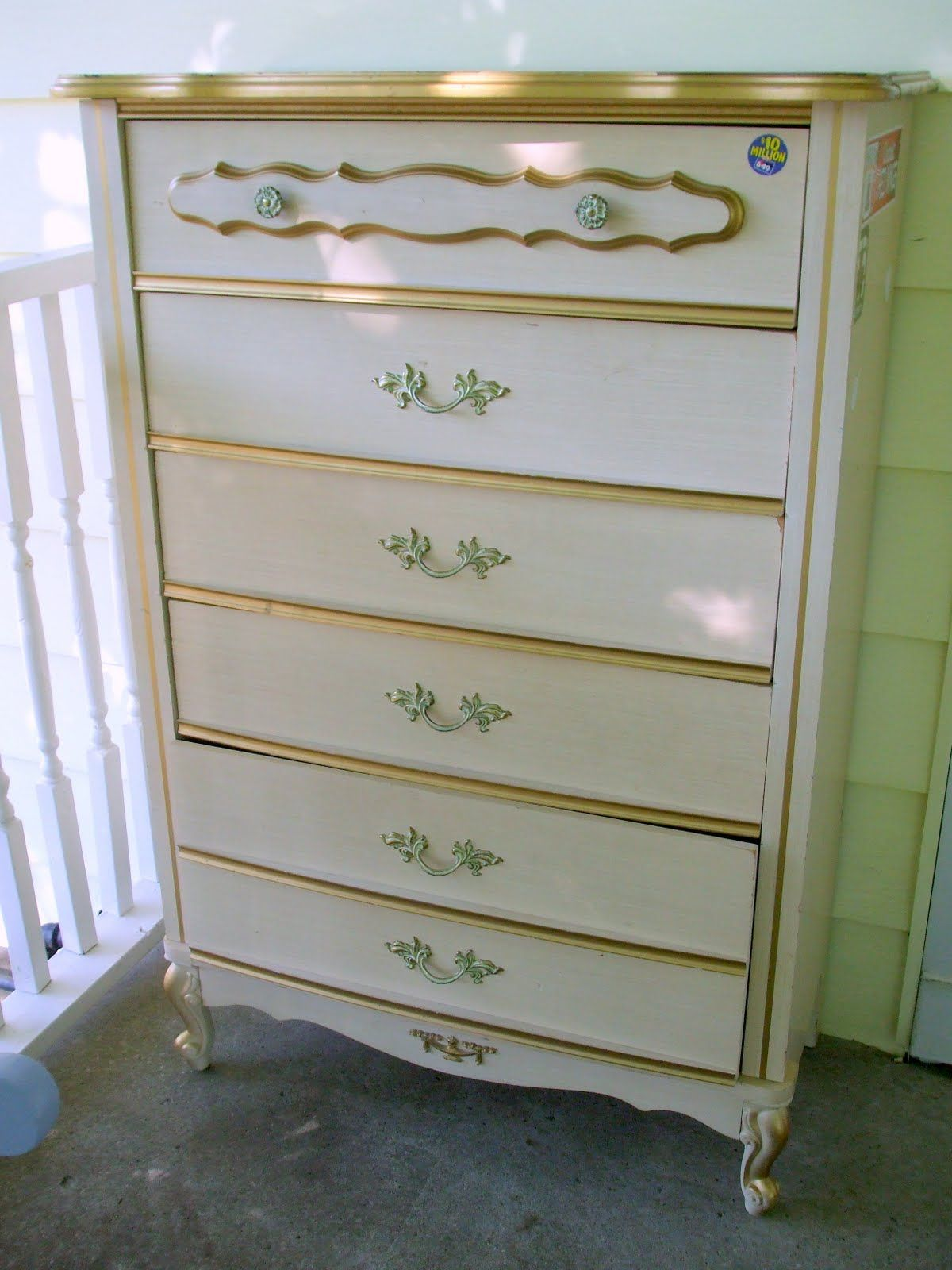 French Provincial 70s Furniture I Had This Bureau My Sister The Dresser W Mirror And We Both Canopy Beds