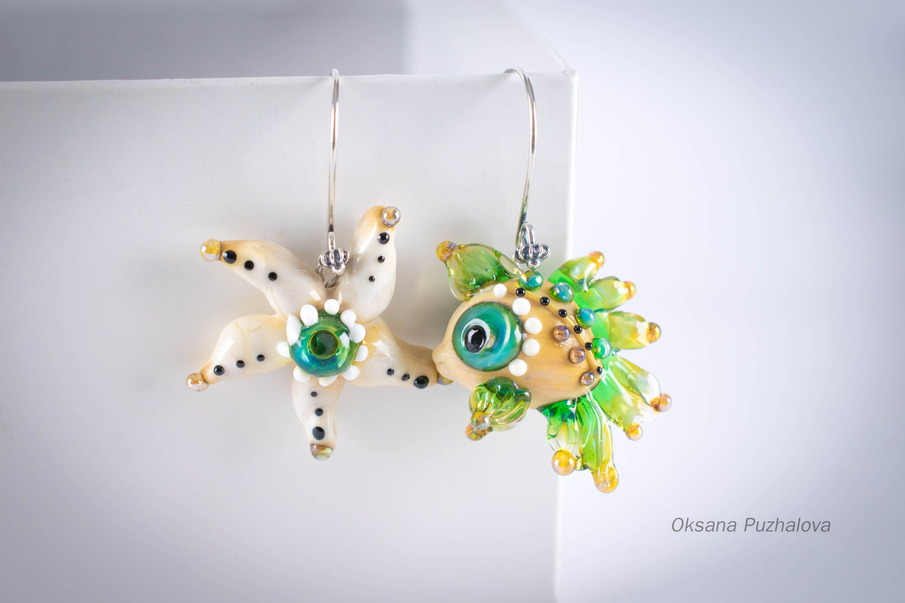 by operandi earrings large asymmetrical marni loading strass moda with green asymmetric in