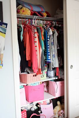 Charmant New House To Home: An Organized Closet For A Teen Girl