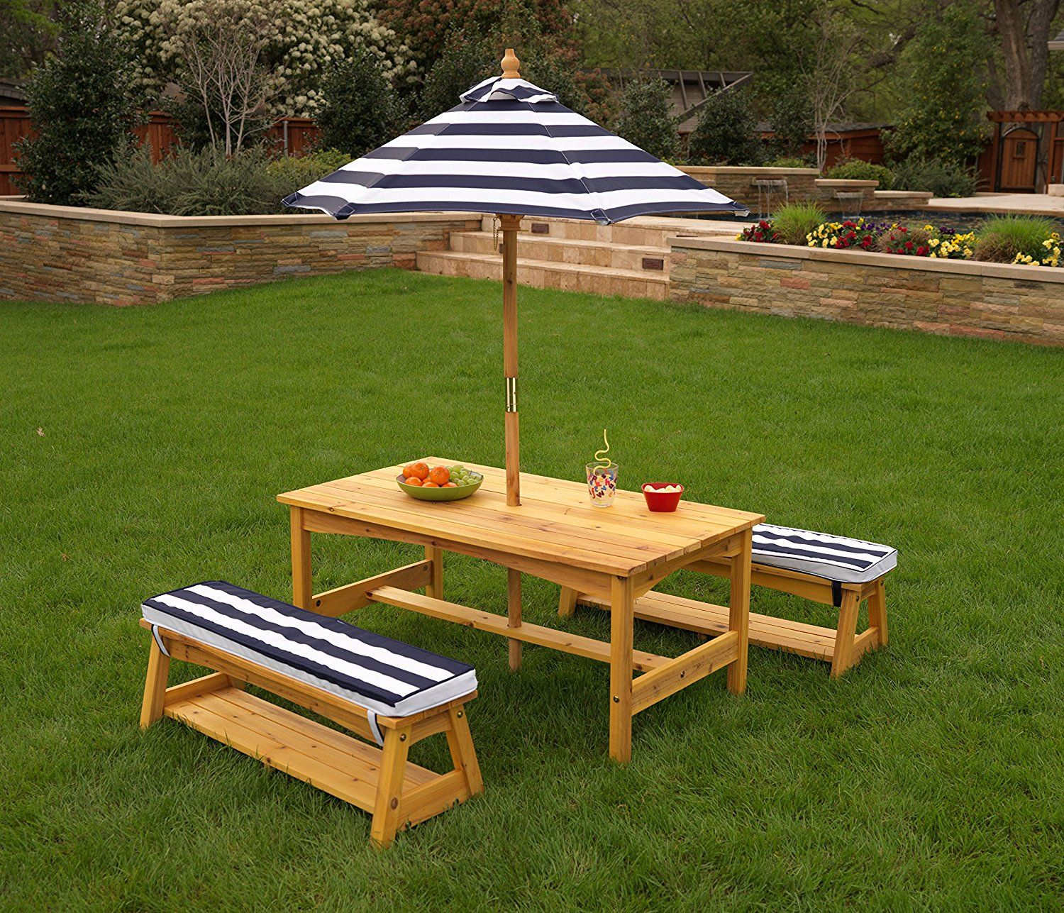 KidKraft Outdoor table and Chair Set with